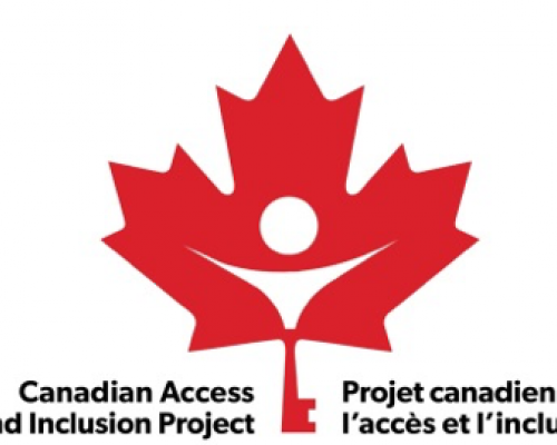 Logo for the Canadian Access and Inclusion Project