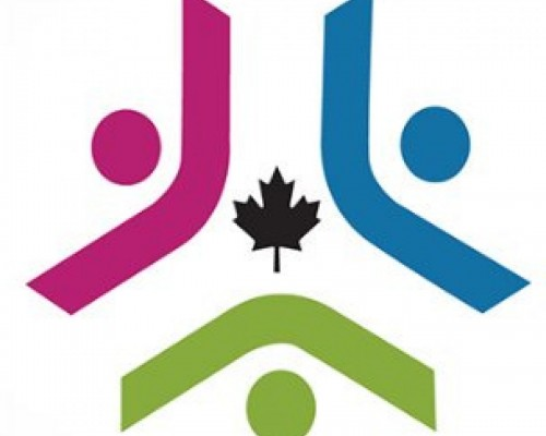 a stylized design used by accessible canada