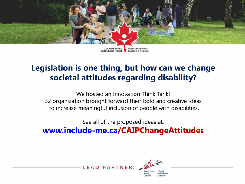 Legislation is one thing, but how can we change societal attitudes regarding disability?