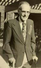 Dr. Al Jousse walking outside
