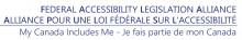 Federal Accessibility Legislation Alliance wordmark
