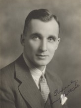 Head shot of a young Dr. Harry Botterell