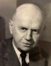 head and shoulder shot of L.M. (Lew) Wood