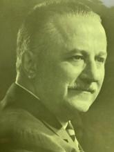 Head a shoulder shot of Dr. Gustave Gingras