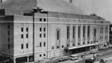 Canadian Paraplegic Association's office at Maple Leaf Gardens 1945-50